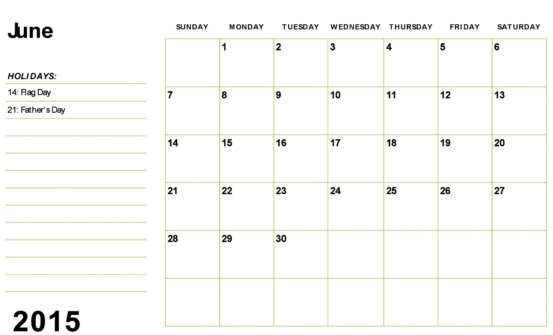 Download June 2015 Calendar Excel And June 2015 Holidays Uk Usa Nz