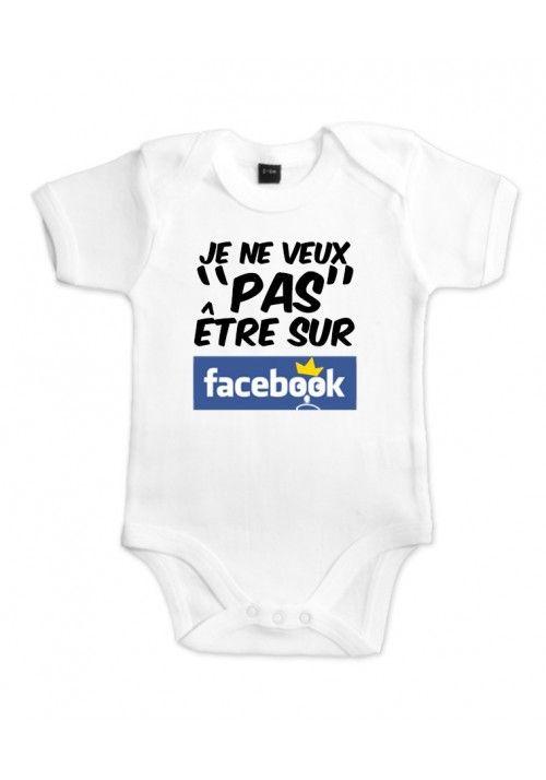 33bfb5740a6d1 Body Bébé Facebook. Body Bébé Facebook Cadeau Naissance ...