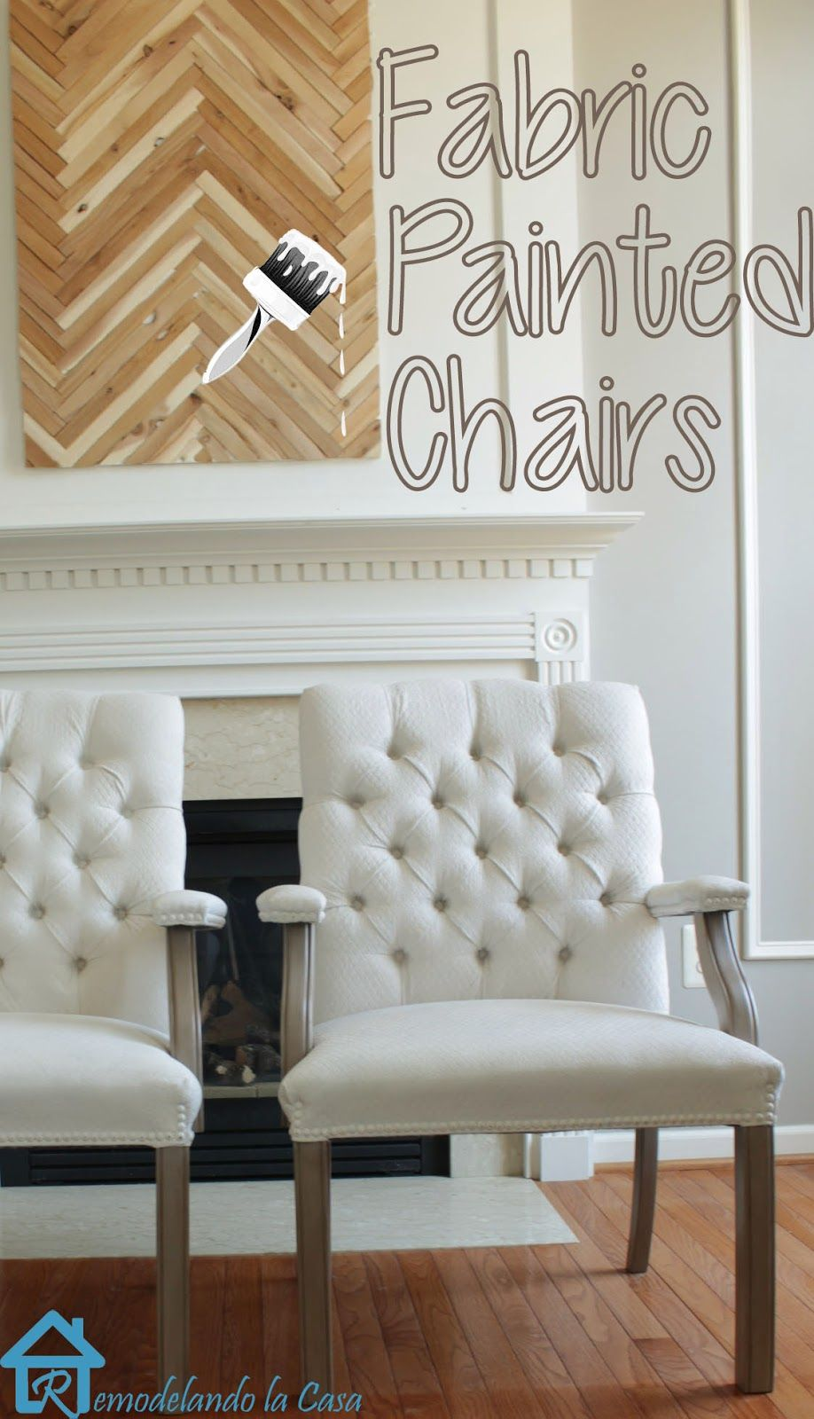 Fabric Painted Chairs - My honest opinion. | Blogger Home ...