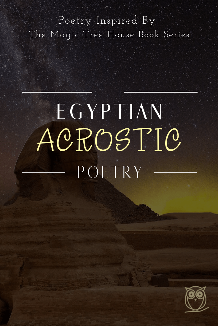 Ancient Egypt How To Create A Simple Acrostic Poem Acrostic Acrostic Poem Acrostic Poetry