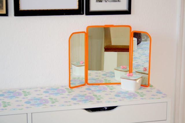 Lyse forårsfarver og brug af spejl