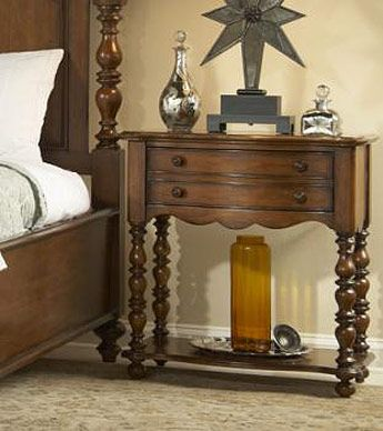 Leg Nightstand Fine Furniture Summer Home Collection