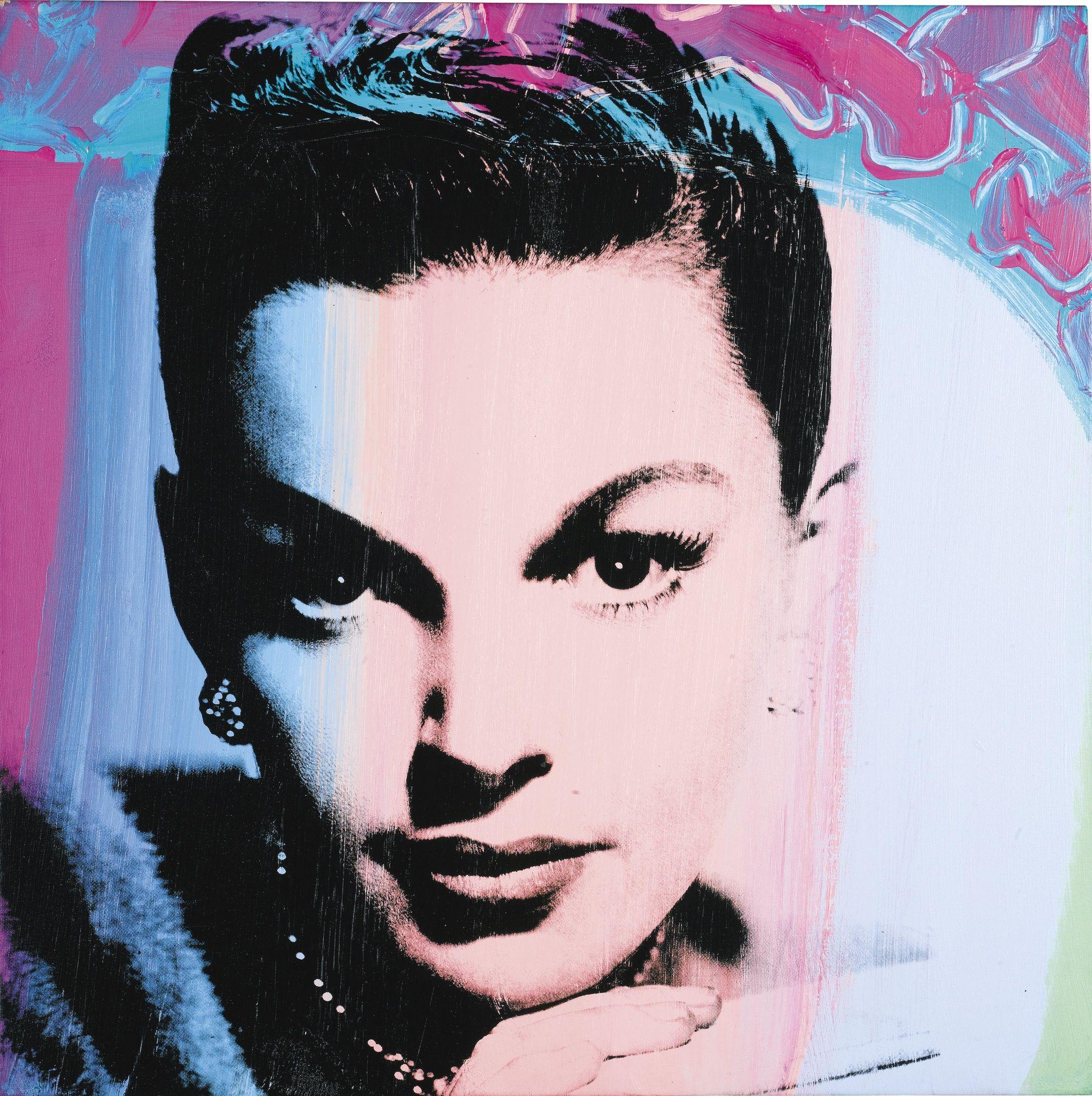 'Judy Garland' (1978) by Andy Warhol