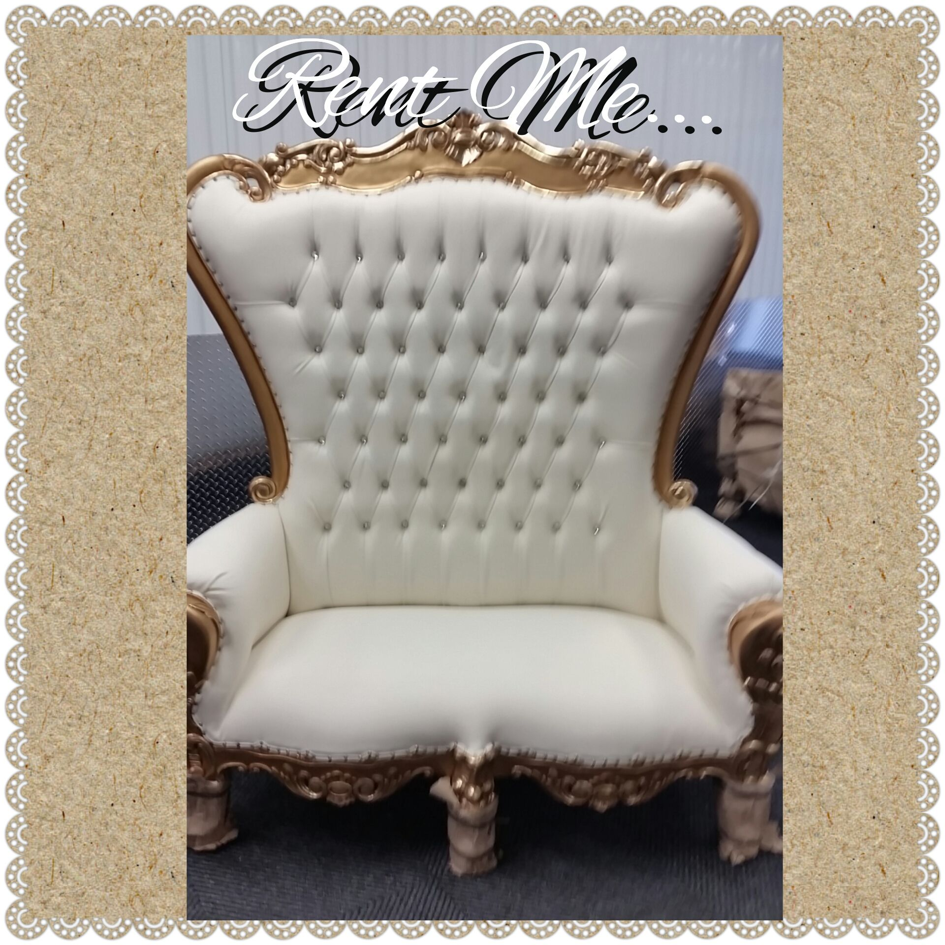 Pin by SIMPLYCREATIVE2rentals on Baby shower chair rental in nyc