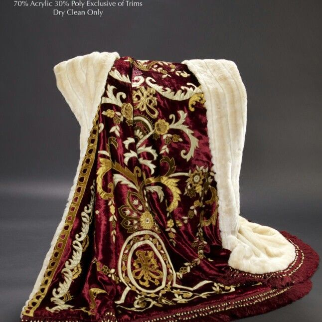 Liberace Limited Edition Throw By Anna Nateece
