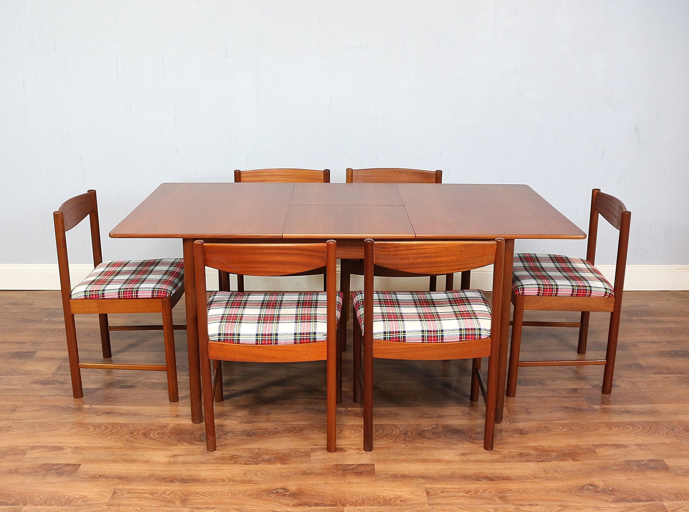 This Is A Beautifully Simple Mid Century Dining Table With Six Matching Chairs By Well Respected Furniture Makers McIntosh Of Kircaldy Dating From The