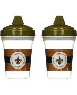 Baby Fanatics New Orleans Saints 2-Pack Sippy Cups - Team color