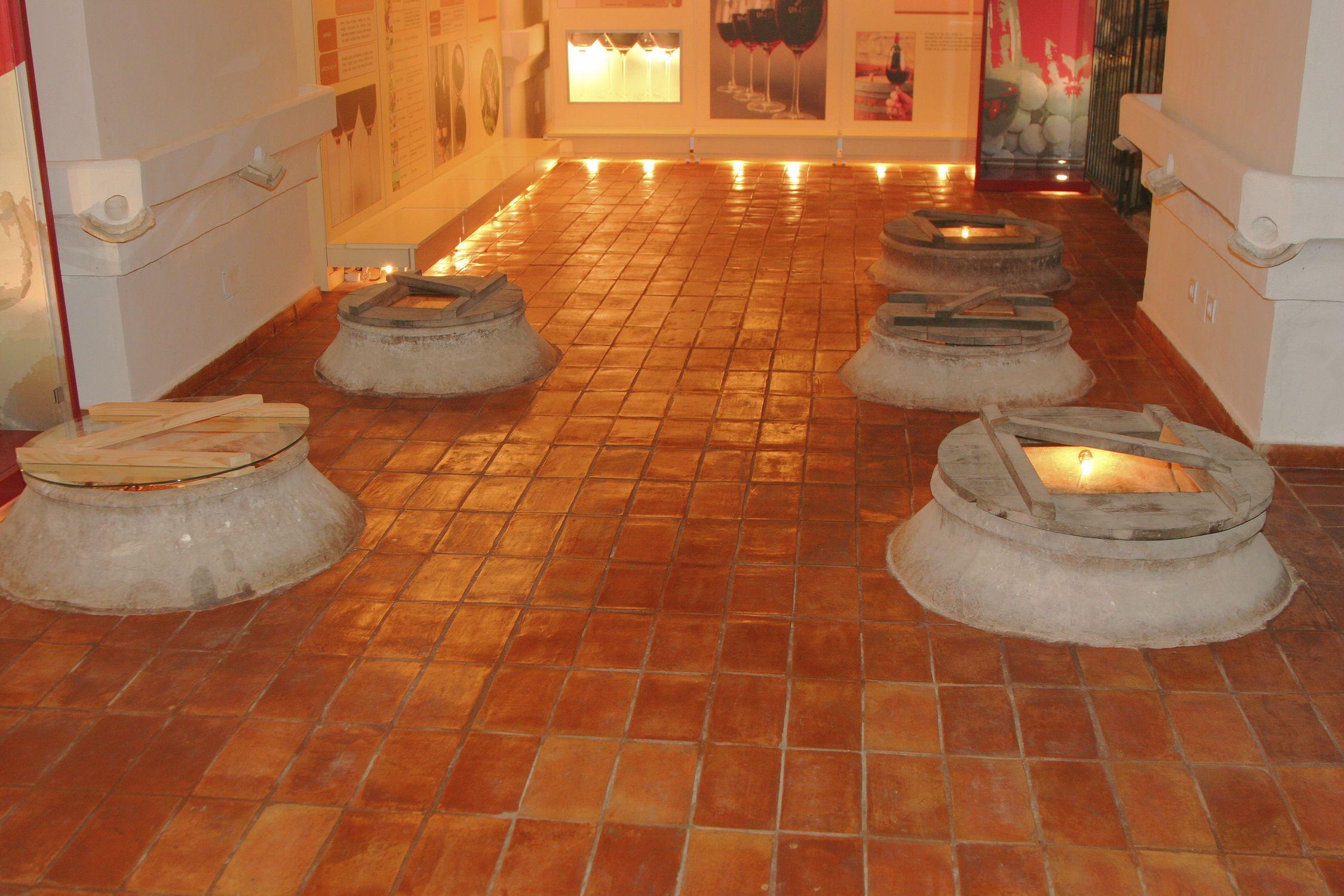 Terracotta floor tile rustic rectangular ceramicas antonio 1b688750a0375aab1e5b9a3d9555e469g dailygadgetfo Images