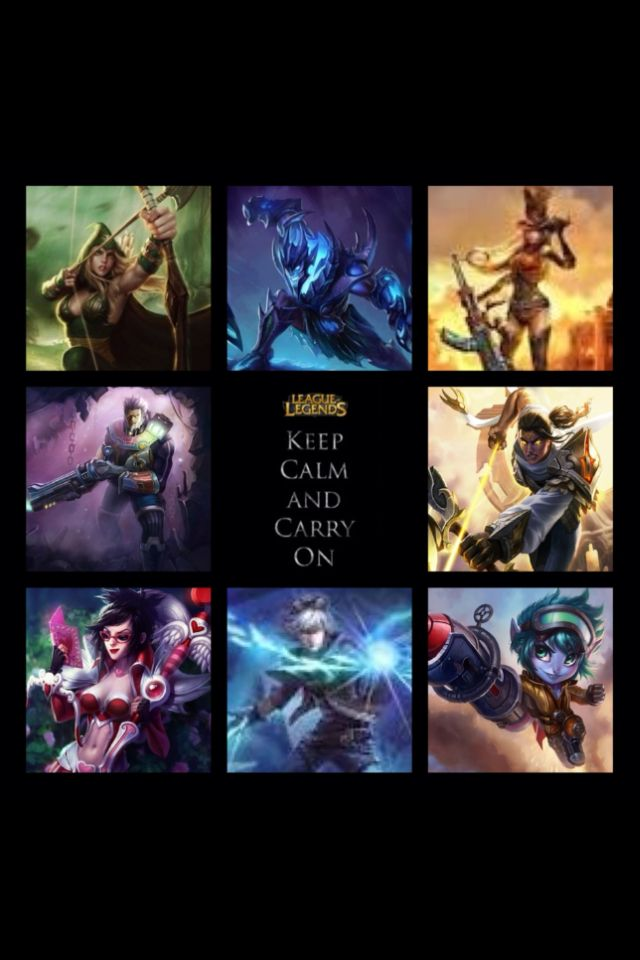 League of Legends - Keep Calm and AD Carry On. (My ...