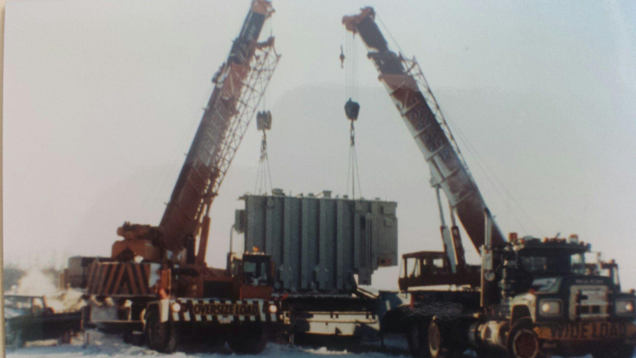 Dynamic transport &Canada crane 1990 Haulage, Heavy
