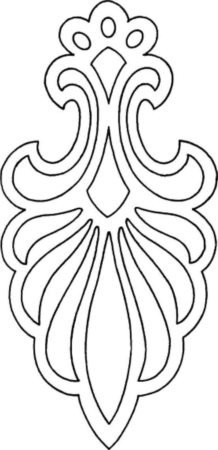 CALADO | Ornamentos para vectorizar | Pinterest | Bordado, Patrones ...