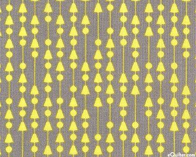Penelope - Bead Curtains - Gray