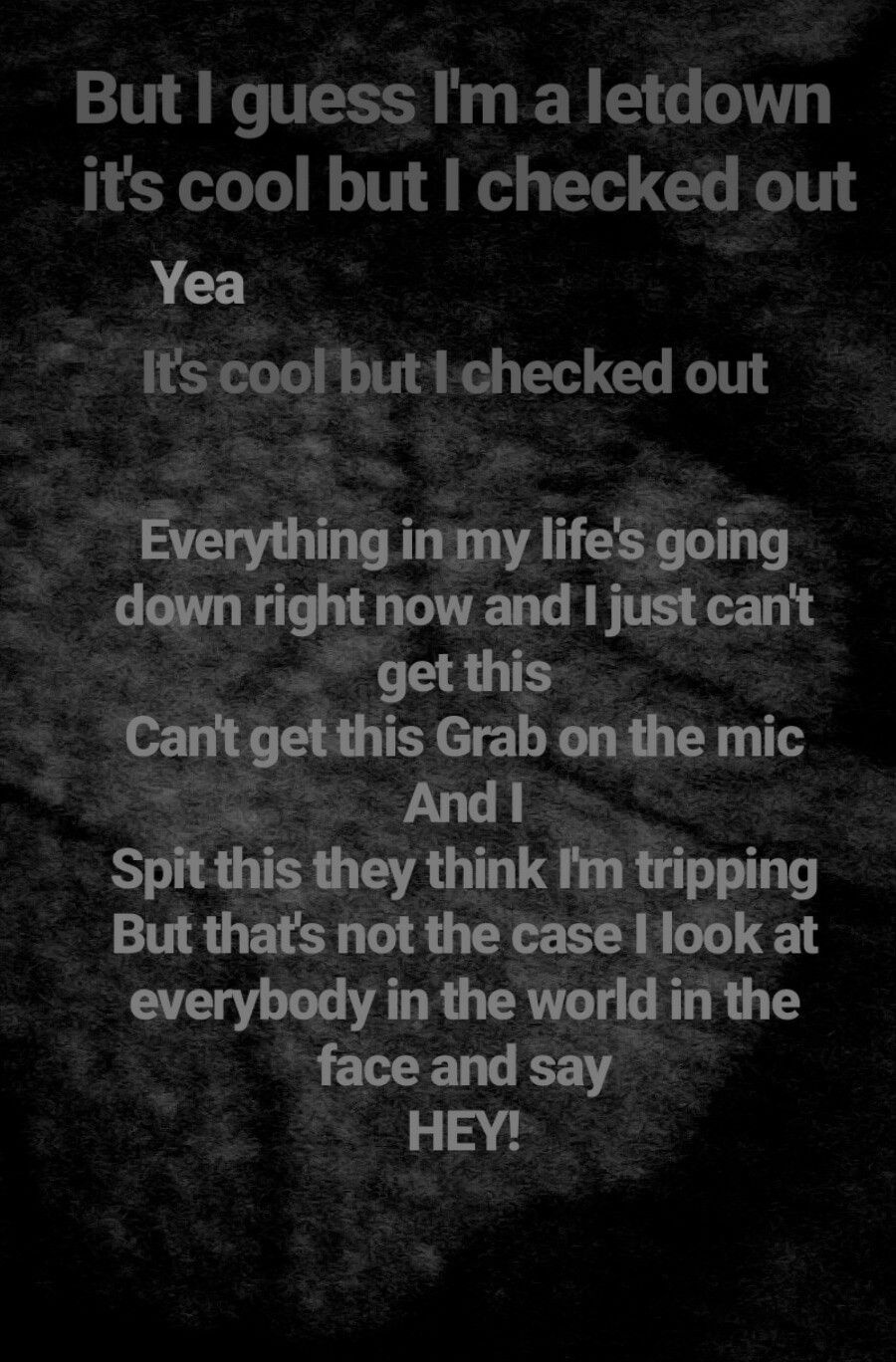 Deep Sad Rap Lyrics : lyrics, Freestyle, Wango, Tango, Lyric, Quotes,, Quotes, Deep,, Music, Words