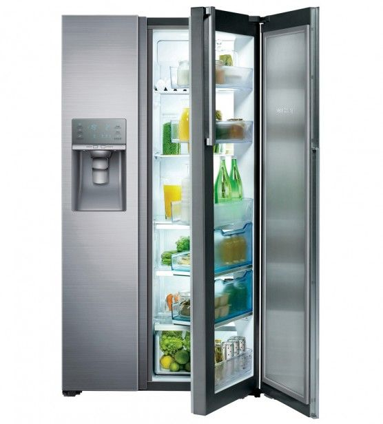 Samsung Rh57h90507f Food Showcase Side By Side Refrigerator
