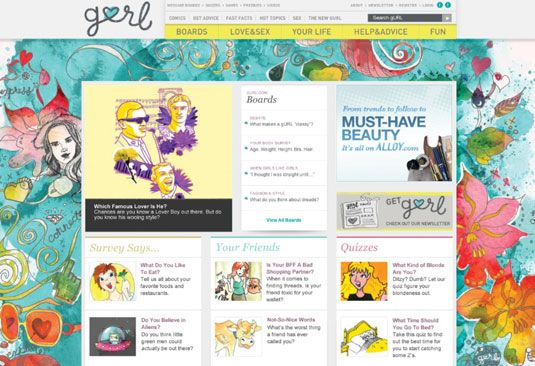gurl website - Google Search