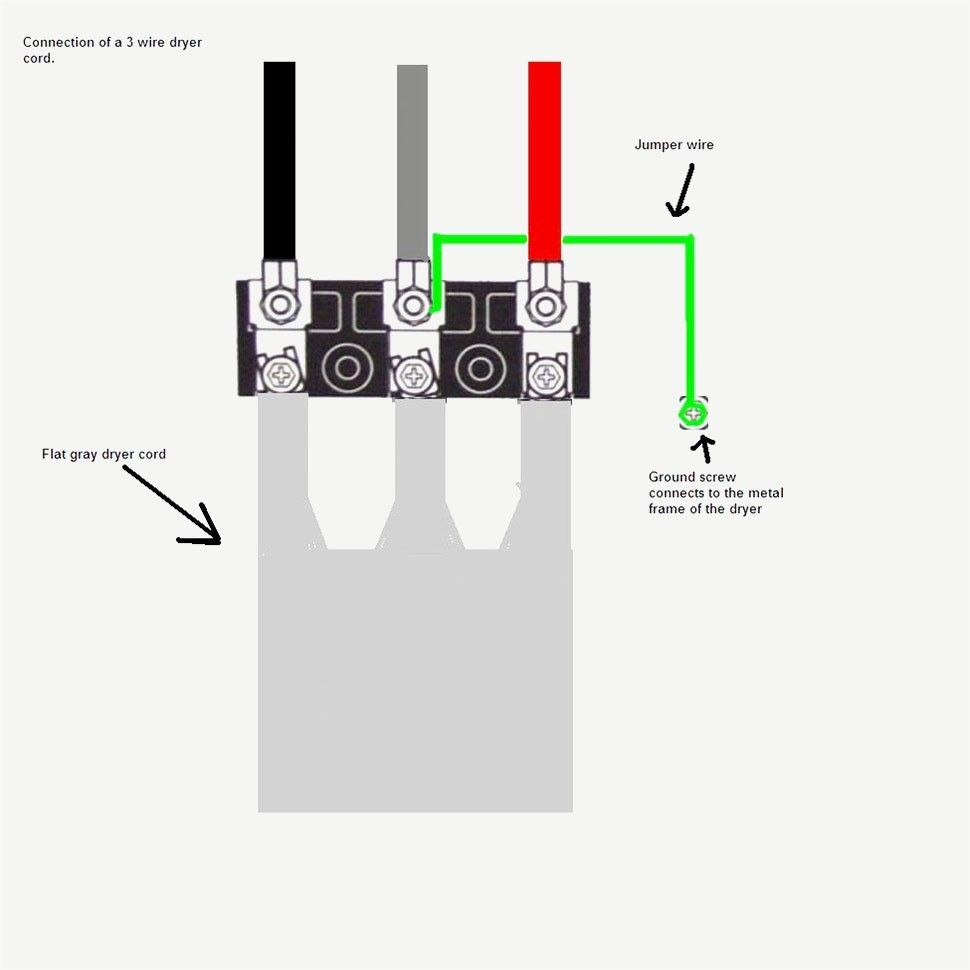 Awesome 3 Prong Dryer Outlet Wiring Diagram In 2020