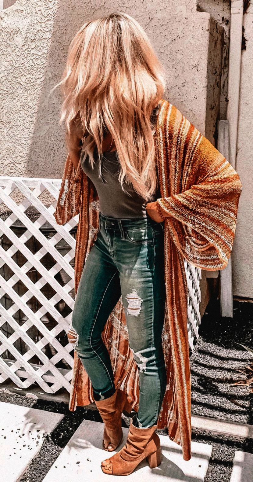 Casual Boho Winter Outfits