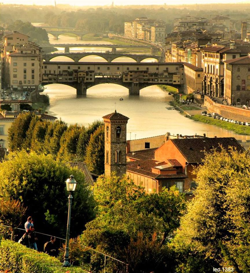 "FLORENCE -  ""Everything about Florence seems to be colored with a mild violet, like diluted wine."" ~ Henry James"
