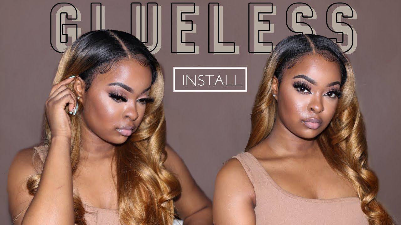 Must see glueless frontal wig install 101 beginners