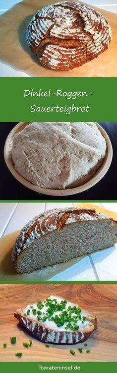 Photo of Spelled-rye-sourdough bread – tomato island