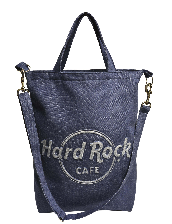 3 D Embossed Tote Hotel Logo Hard Rock Promotional