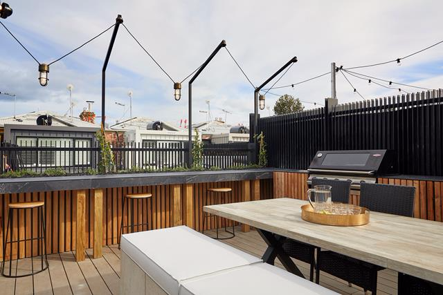 The Block 2019: terrace, redo room and garage reveals #rooftopterrace