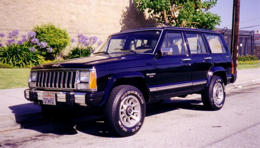 2nd Car I Still Have This One 1986 Jeep Cherokee Sport 4 Door