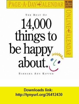 The Best Of 14 000 Things To Be Happy About Calendar 2007 Page A