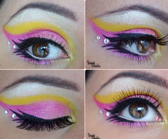 Sailor Chibi Moon Inspired By Ivana P Sailor Moon Makeup Fancy Makeup Makeup Designs