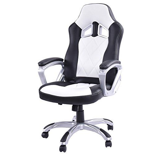 Enjoyable Giantex High Back Racing Style Bucket Seat Gaming Chair Ocoug Best Dining Table And Chair Ideas Images Ocougorg