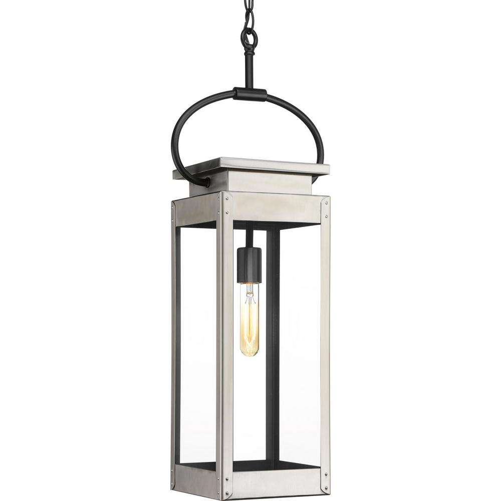 Union Square Collection 1-Light Outdoor Stainless Steel Hanging ...