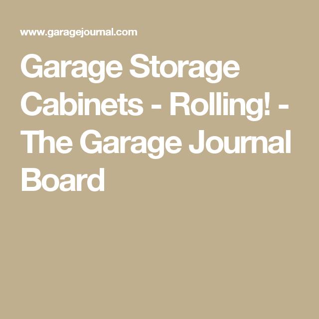 Plywood Garage Cabinet Plans: Garage Storage Cabinets