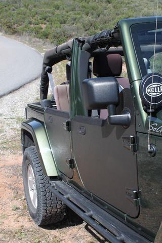Jeep Wrangler Half Door Rear Only By Strike Force Zebra Auto Truck Accessories Jeep Wrangler Jeep