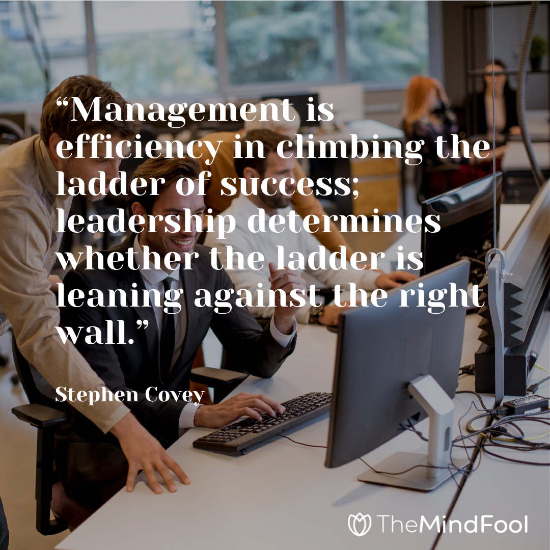 Leader Vs Manager How To Tell The Difference In 2020 Leader Vs Manager New Things To Learn Leadership