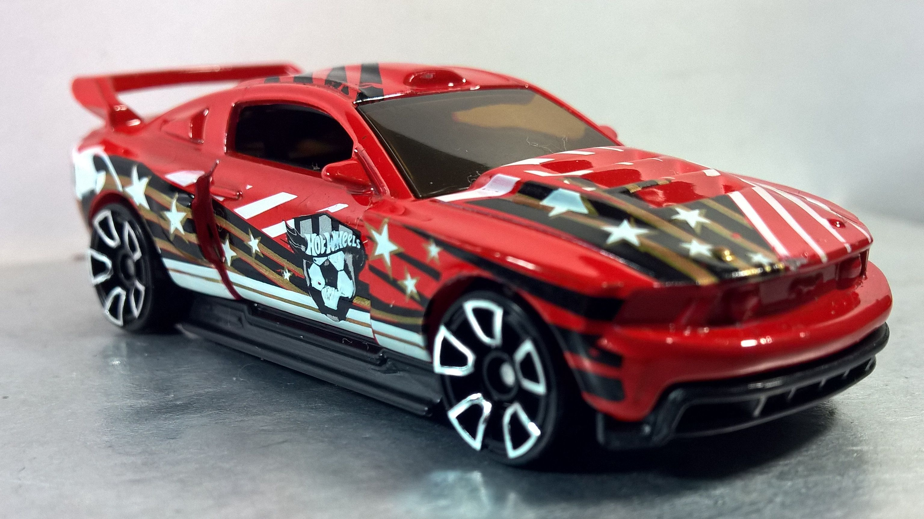 Custom 12 Ford Mustang Hw City Goal 2014 7 Hot Wheels