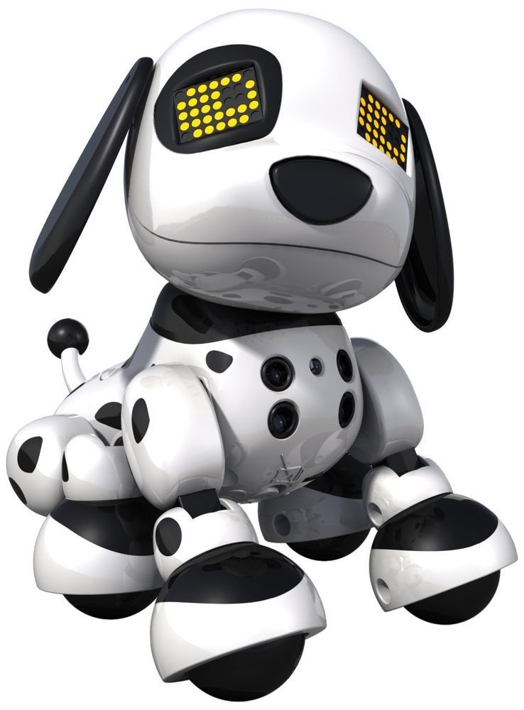 Zoomer Zuppies Interactive Puppy Personal Robot Dog Lights Sounds