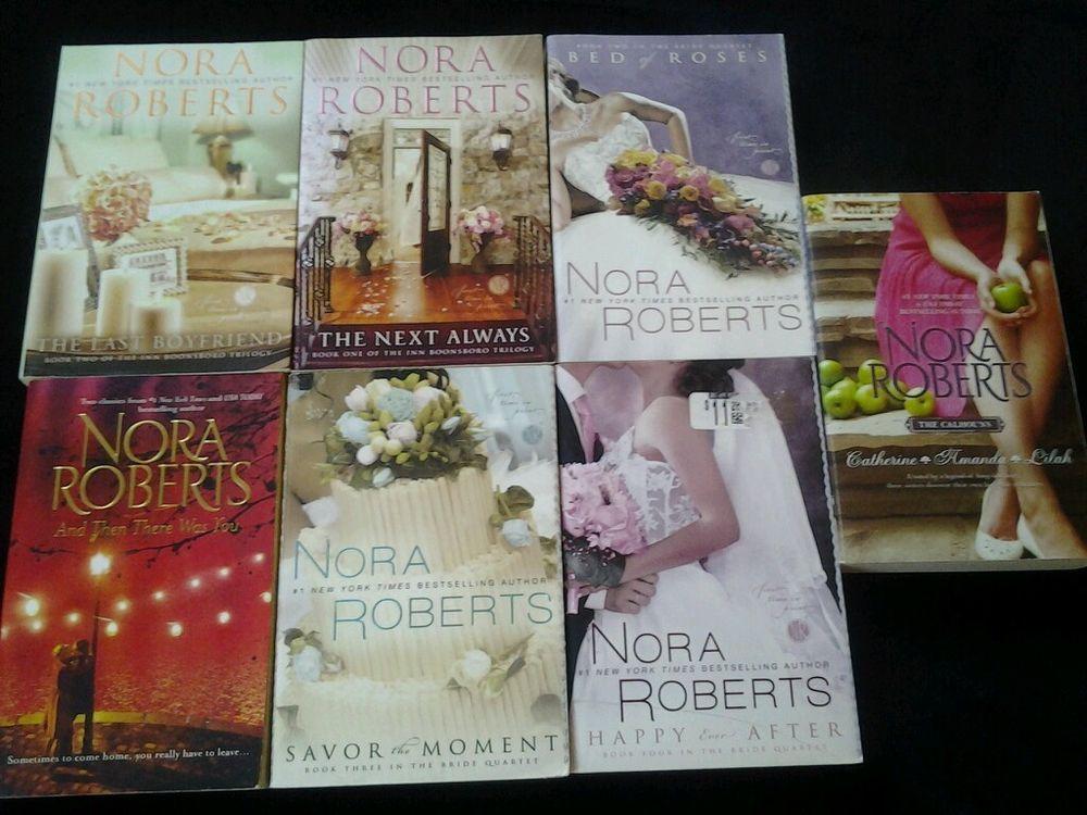 Nora Roberts Lot of 7 Paperback Novels Nora roberts