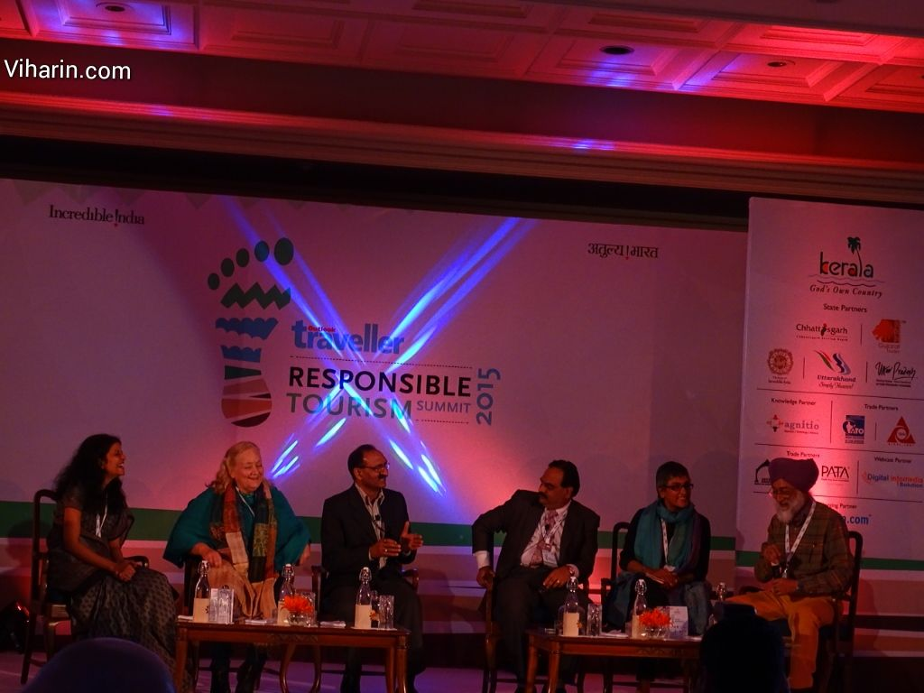 Responsible Tourism Summit 2015 by Outlook traveller http://www.viharin.com/events-2/responsible-tourism-summit-2015-by-outlook-traveller