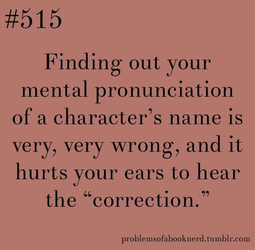 Resultado de imagen de book character names pronunciation