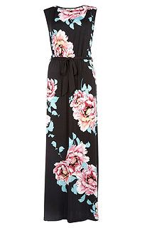 Maxi Dress Trends 2013 // Large Floral Print // [ Click photo for more details ▸▸ ]