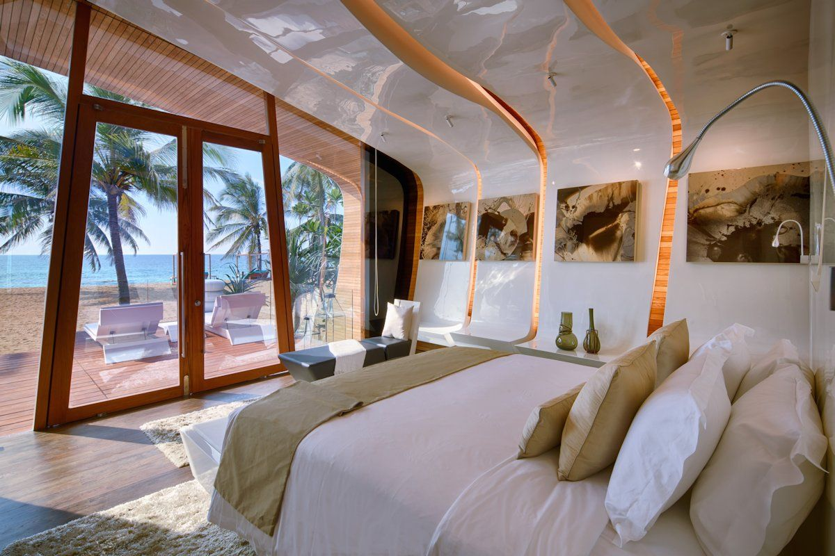 Bedroom at the Iniala Beach House in Phuket, Thailand by A-Cero
