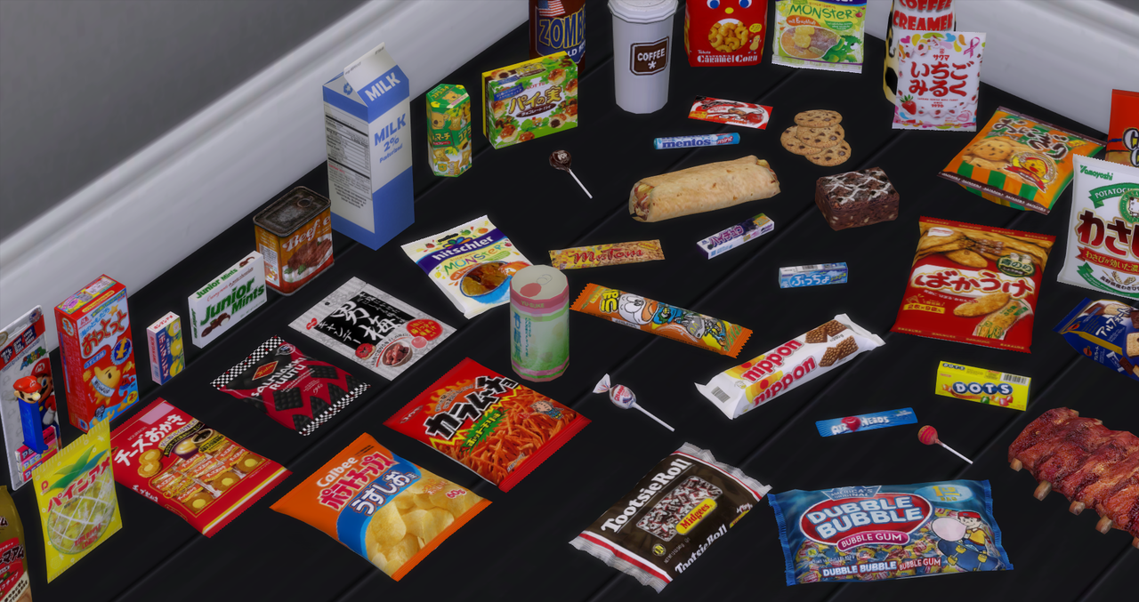 65 food items that your sims probably shouldn't be
