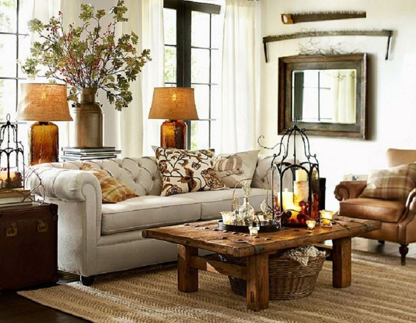 The 16 Most Beautiful Fall Decorations. Pottery Barn ... & The 16 Most Beautiful Fall Decorations | Decoration Living rooms ...