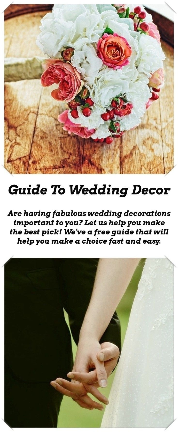 Wedding decorations to make  Decoration Ideas For Your Wedding  Weddings