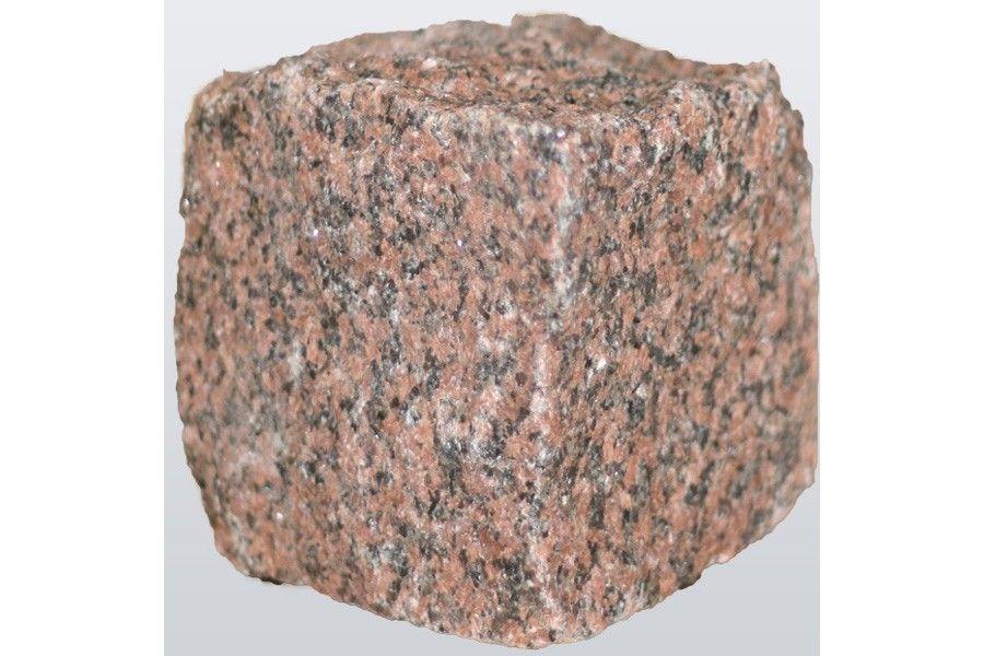 Noppakivi, punertava graniitti, 1000 kg - Koristekivet ja pihakivet