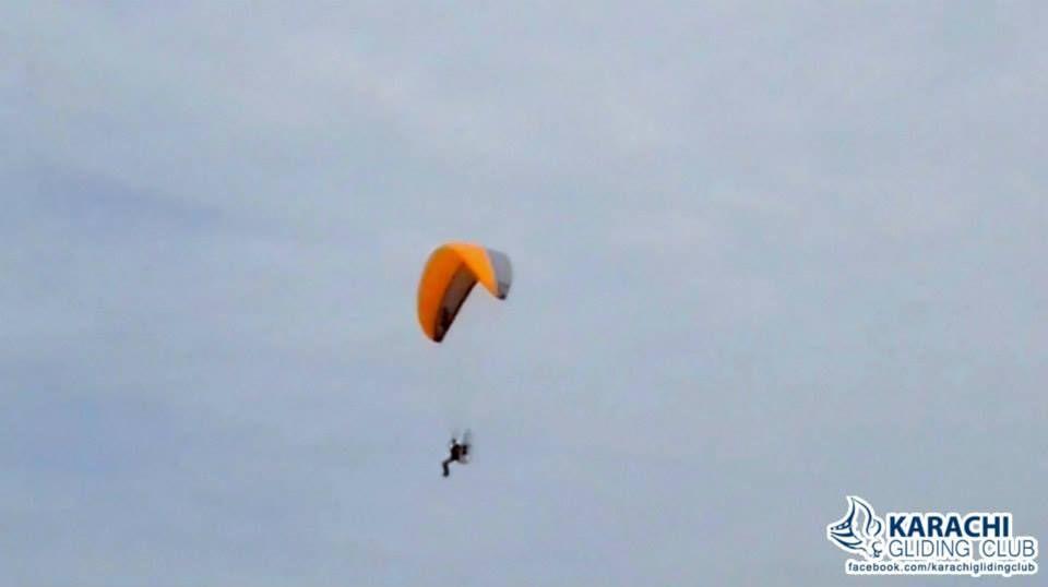 Certified Paramotor Training Courses in Karachi by Karachi Gliding Club - Book Yours Now at www.KarachiGlidingClub.com