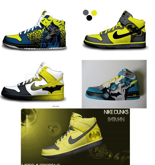 batman nike sb dunk | Cartoon Nike Dunks | Pinterest ...
