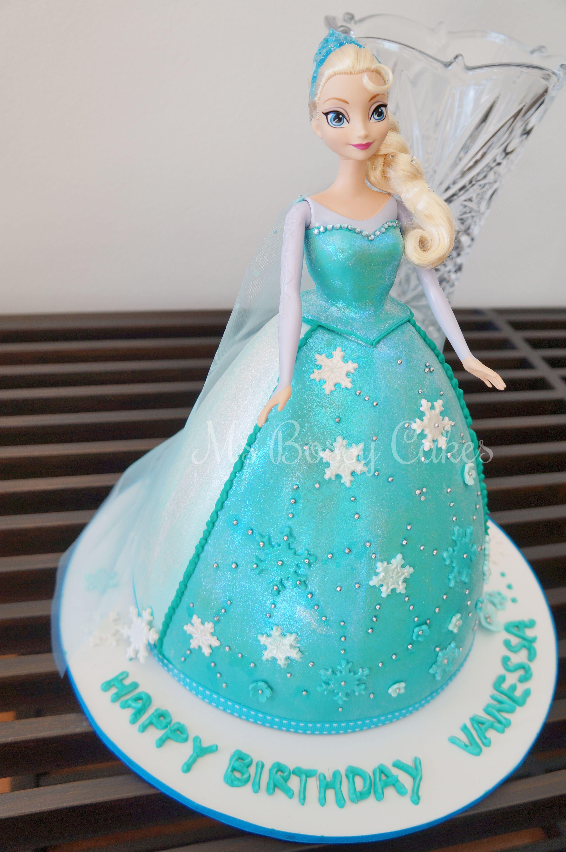 Elsa Doll Cake Design : elsa doll cake - Google Search cakes Pinterest Elsa ...
