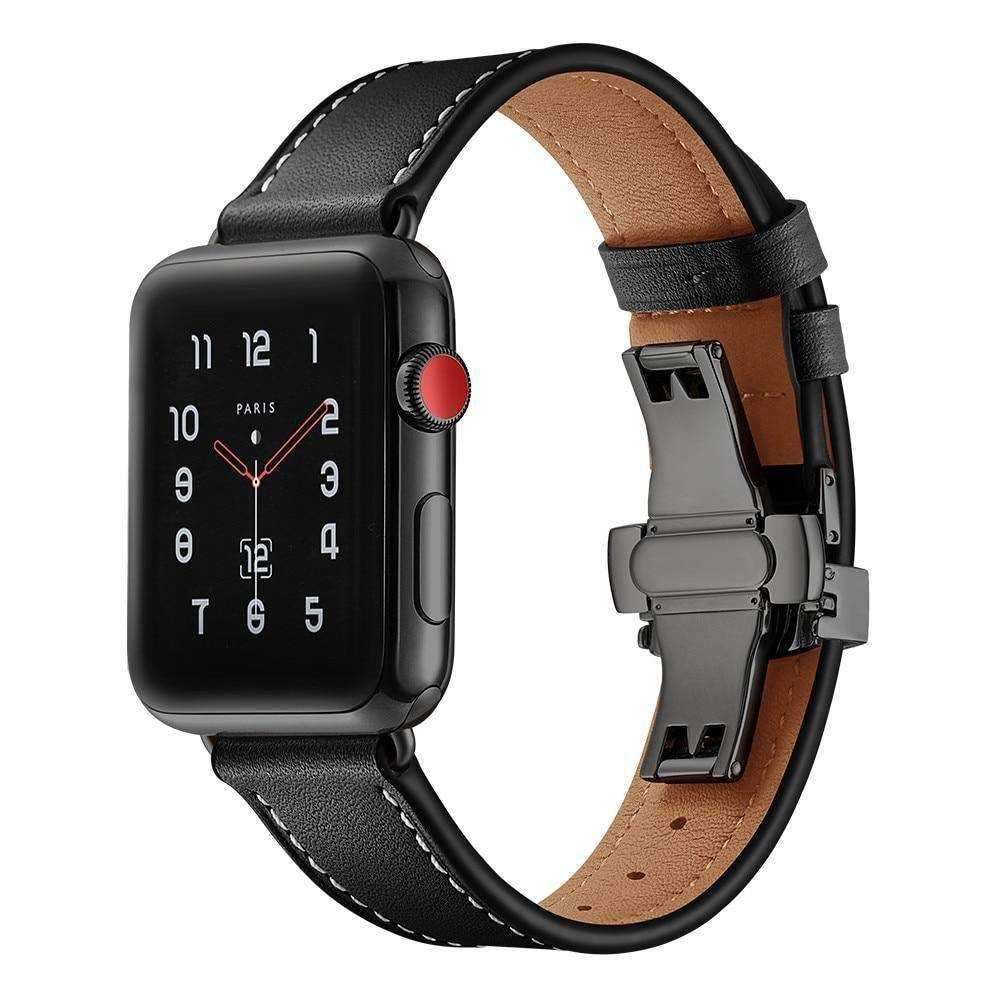 Apple Watch band Genuine Leather 44mm/ 40mm/ 42mm/ 38mm