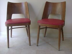 Vintage Shelby Williams Bent Wood Plywood Barrel Chair Style No 1200